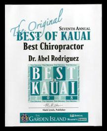 Best Chiropractor 2008
